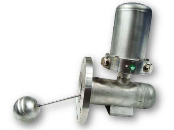 073 alarme de niveau montage latéral à flotteur et inverseur à micro-contact